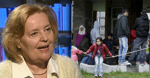 Vášáryová o strachu z uprchlíků: Jsme rozmazlení a nechceme se dělit