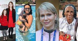 Těhotenství po čtyřicítce: Které celebrity by mohly být babičkami? A kdo je nejstarší matka světa?