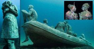 Za uměním do muzea? Na Kanárech se za ním potopíte pod hladinu moře