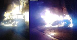 Tragická nehoda na Teplicku: Řidič uhořel po nárazu do viaduktu