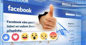 Facebook spustil 5 nových tlačítek, jsou to barevné smajlíky