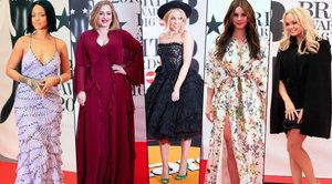Souboj zpěvaček na červeném koberci Brit Awards: Které to slušelo nejvíc?