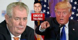 Komentář: Co má společného Trump se Zemanem? Hulvátství a předškolní moudra