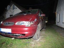 Řidič zabil chodce na přechodu a ujel, za hodinu se ale vrátil