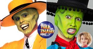 Anička Fialová z Tváře zezelenala jako Jim Carrey: Jak se měnila v Masku?