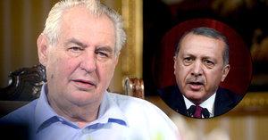 Zeman o Turecku: Evropě hrozí 2,5 milionu migrantů. Seznamy pučistů byly nachystané