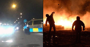 Přistěhovalci terorizují Švédsko: Trollhättan již dvě noci čelí nepokojům