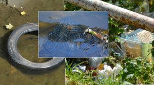 Botič: Nejdelší a nejhezčí pražský potok? Spíš stoka plná odpadků