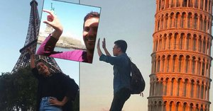 Pekelné fotky z dovolené: Místo perfektního snímku zbyly těmhle turistům oči pro pláč!