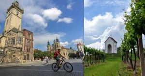 Zájem o podzimní dovolenou v Česku roste. Oblíbená je jižní Morava i Praha