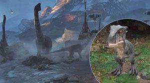Planeta dinosaurů na vlastní oči - Recenze Robinson: The Journey