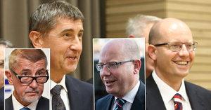 Vládnutí jim (ne)svědčí: Ministři přibrali i zešedivěli, porovnali jsme je