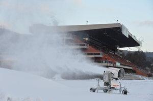 Běžkaři v sobotu zahájí sezonu: Ve SkiParku Chuchle se bude lyžovat zdarma