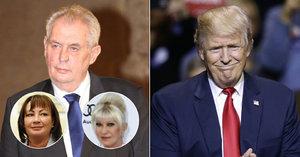 Zeman u Trumpa: Přemluví ho a dostane do Prahy druhou Ivanu?