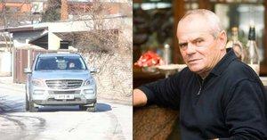 Střelba v domě herce Milana Kňažka: Vážné zranění!