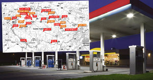 Hříšné čerpací stanice: Podívejte se, kde prodávali nekvalitní benzin a naftu