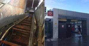 Eskalátor na Budějovické nestihli opravit ani po roce. Co se děje?
