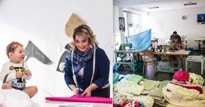 Leona šila pleny pro syna, dnes jich prodává tisíce: Podléhají módním trendům