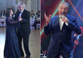 Zemanovi bude zpívat Karel Gott: Prezident chystá ples ve velkém stylu