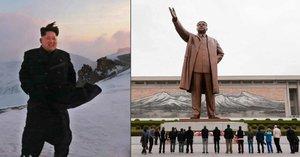 Kim Čong-un staví na nejvyšší hoře sousoší diktátorů: NA KLDR bude shlížet s tátou a dědou!