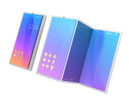 Takhle si Microsoft představuje skládací mobil, který lze rozložit na velký tablet
