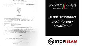 Pro migranty nevaříme: Restaurace na Znojemsku dostala pokutu 60 tisíc. Už podruhé!
