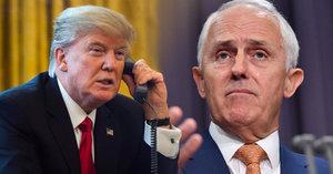 """Trump """"bouchl"""" telefonem premiérovi Austrálie. Štve ho dohoda o uprchlících"""