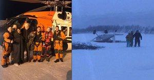 Rodina přežila havárii letadla: Pak museli vydržet 30 hodin v mraze