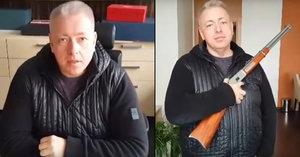 Chovanec na videu pózoval s kulovnicí. Zákon o zbraních podá jako poslanec