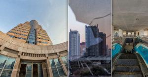 Opuštěný mrakodrap se zlověstně tyčí nad metropolí: Zlikvidovala ho finanční krize