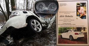 Pohřeb Jirky (†23) z osudného BMW: Milované auto mu dali i na parte