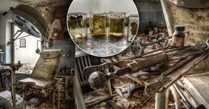Lidské orgány v lihu a zrezivělé nástroje: Opuštěná ordinance nahání hrůzu