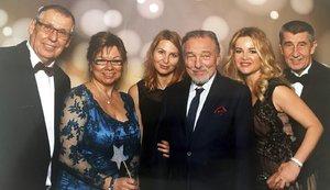 Babiš se pochlubil Gottem: Slavík zpíval úspěšnému podnikateli