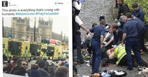 Hyena útoku v Londýně: Muž si fotil selfie před oběťmi teroru!