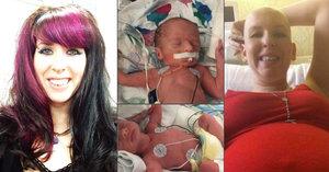 Během těhotenství porazila rakovinu: Po porodu dvojčátek matce (†30) selhalo srdce