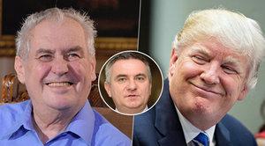 Zeman nemá u Trumpa nic jisté, připustil Mynář. A promluvil o dětském pornu