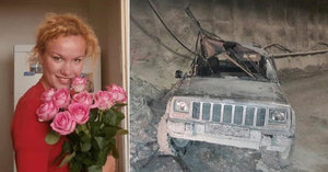 Tragédie na stavbě: Krásnou Marii (†25) rozdrtil v tunelu bagr