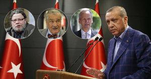 Trump tleskal Erdoganově diktatuře. Exšéfové české diplomacie: Turky potřebuje