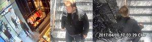 Drzý zloděj ukradl luxusní zboží za 16 tisíc v Pařížské: Neznáte ho?