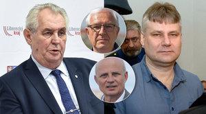 """Horáček vytkl Zemanovi Kajínka: """"Chce nás chránit před vrahy a jednoho pustí"""""""