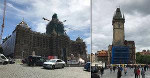 Praha se ocitla pod lešením. Proč teď opravují řadu významných památek?