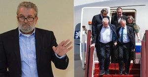 """Na summit NATO vyrazí Zeman bez Sobotky. """"Snad neudělá ostudu,"""" doufá Gabal"""