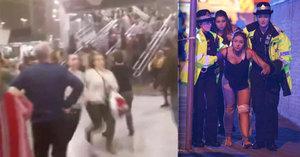 Panika a zběsilý útěk: Účastníci koncertu po výbuchu prchají do bezpečí