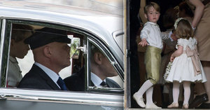 Poprask na svatbě Pippy: Hazard se zdravím malého George! Britové se zlobí