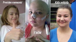 Statečné Kačce (14) vzala leukémie koleno: Příští rok pojedu na kole a budu pomáhat dětem!