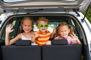 Řidič potřebuje hýčkat! Rozjívené děti působí jako alkohol!