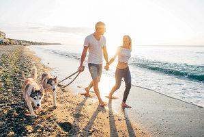 Psí pláže v Chorvatsku
