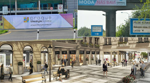 U pražského letiště otevřou největší outlet v Česku: Bude vypadat jako Staré Město