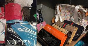 Adidas, Gucci i Rolex. Celníci zabavili v Sapě padělky za 14 milionů