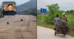 Liduprázdné dálnice, propaganda a záchod na povel. Tak se cestuje v KLDR